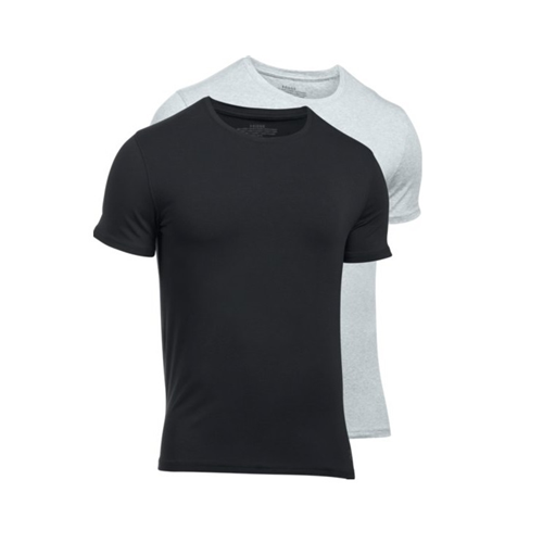 Charged Cotton Crew Undershirt - 2-Pack