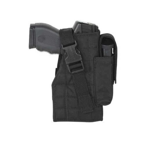 Tactical Molle Holster w/ Attached Mag Pouch